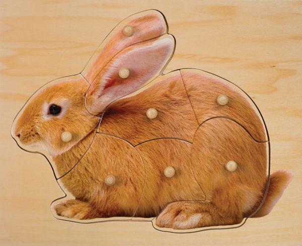 Rabbit Puzzle (7pcs)-0