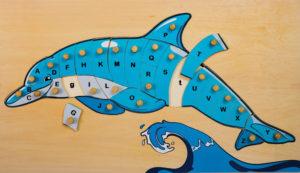 Dolphin ABC Puzzle (26pcs)-0