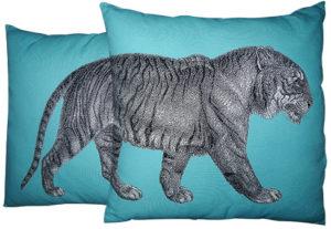 Tiger Cushion Set (2pcs)-0