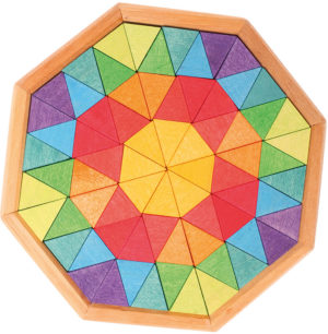 Chunky Octagon Puzzle Blocks (72pcs)-0
