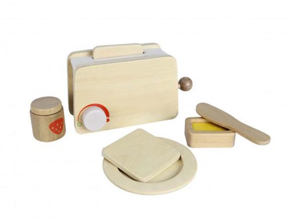 Wooden Toaster Set (7pcs)-0