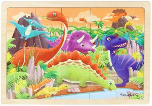 Dinosaurs Jigsaw Puzzle (20pcs)-0