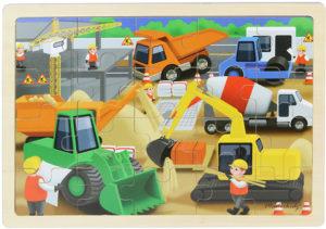 Construction Site Jigsaw Puzzle (20pcs)-0
