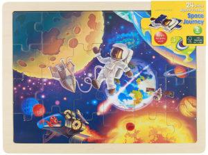 Space Journey Jigsaw Puzzle (24pcs)-0