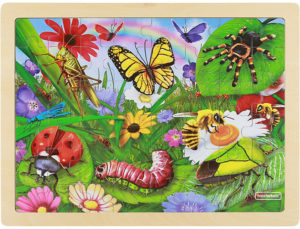 Insects Jigsaw Puzzle (48pcs)-0
