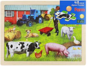 Farm Jigsaw Puzzle (48pcs)-0