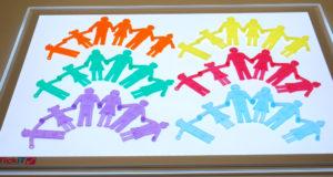 Transparent Linking People (36pcs)-0
