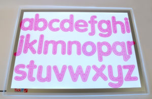 Transparent Trace Alphabet (26pcs)-0