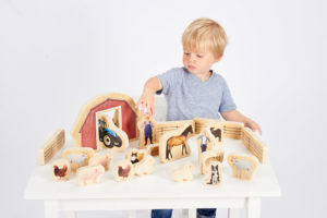 Wooden Farm Blocks (25pcs)-0