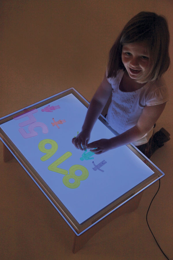 A2 Colour Changing Light Panel-11311