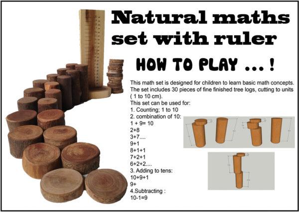 Natural Maths Set (30pcs)-14450