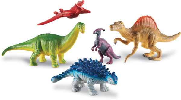 Jumbo Dinosaurs Two (5pcs)-14007