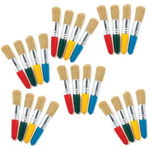 Tiny Tots Stubby Brushes (24pcs)-0