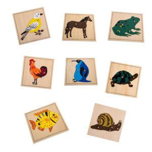 Animal Puzzle Set