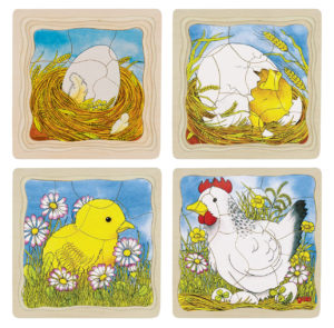 Chicken Layer Puzzle (44pcs)-0