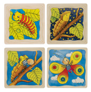 Caterpillar Layer Puzzle (44pcs)-0