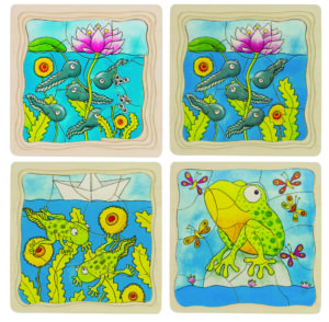 Frog Layer Puzzle (44pcs)-0