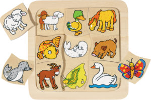 Who Belongs to Who Puzzle (9pcs)-0