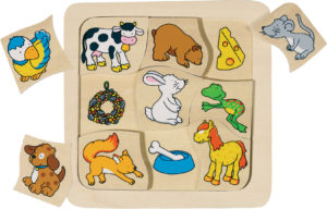 Who Eats What Puzzle (9pcs)-0