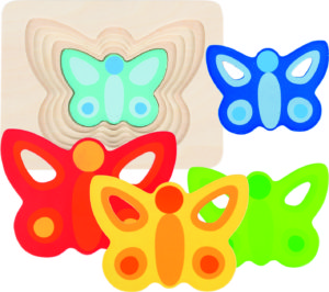 Butterfly Layer Puzzle (5pcs)-0