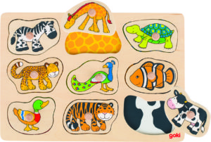 Animal Pattern Puzzle (9pcs)-0