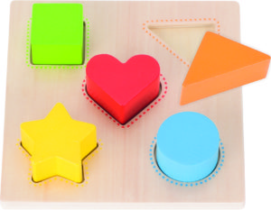 Colour & Shape Board (5pcs)-0