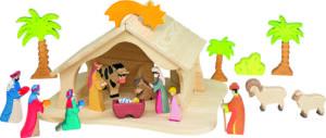 Nativity House & Scene (19pcs)-0