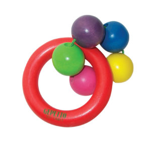 Five Bead Teething Ring-0