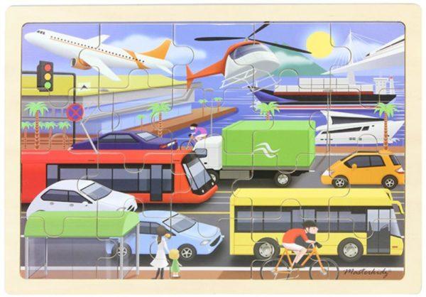 Transportation Jigsaw Puzzle (20pcs)-0