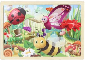 Insects Jigsaw Puzzle (20pcs)-0