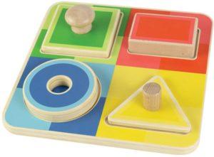 Tiny Tots Shapes Puzzle (4pcs)-0