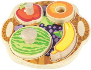 Tiny Tots Puzzles Fruits (4pcs)-0