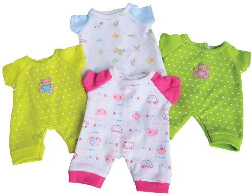 Small Dolls Clothes Set (4pcs)-0