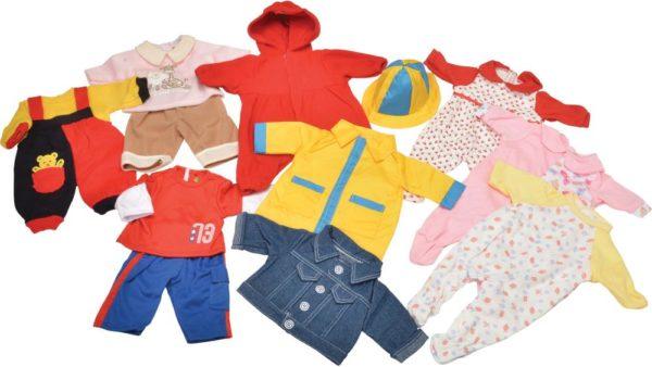 Everyday Large Dolls Clothes Set (13pcs)-0