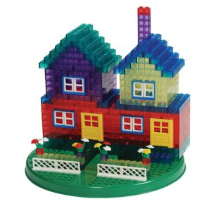Transparent Building Bricks (450pcs)-0