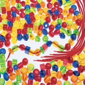 Transparent Stringing Beads (266pcs)-0