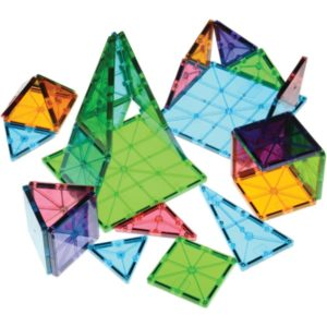 Clear Colours Magna Tiles (74pcs)-0