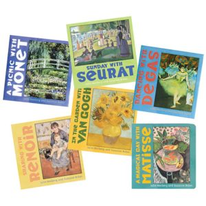 Board Books Masterpieces (6pcs)-0