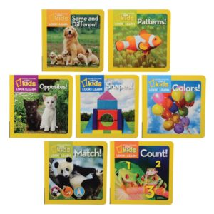 National Geographic Concept Board Books (7pcs)-0
