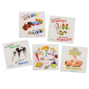 Beginning Concepts Bilingual Board Books (5pcs)-0