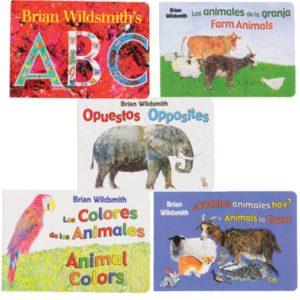 Bilingual Concept Board Books (5pcs)-0