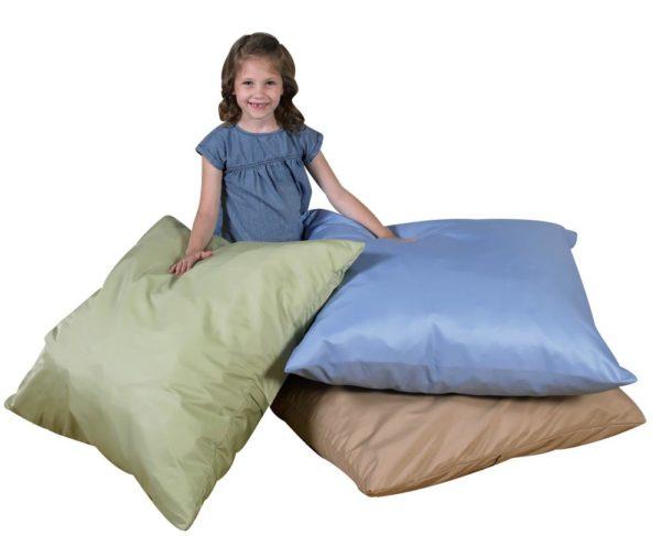 Large Natural Cushions (3pcs)-0
