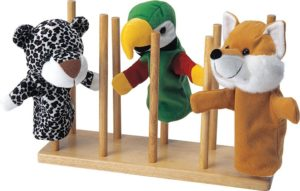 Wooden Puppet Stand-0
