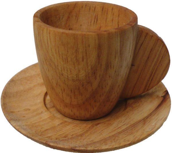 Wooden Tea Set (11pcs)-11344