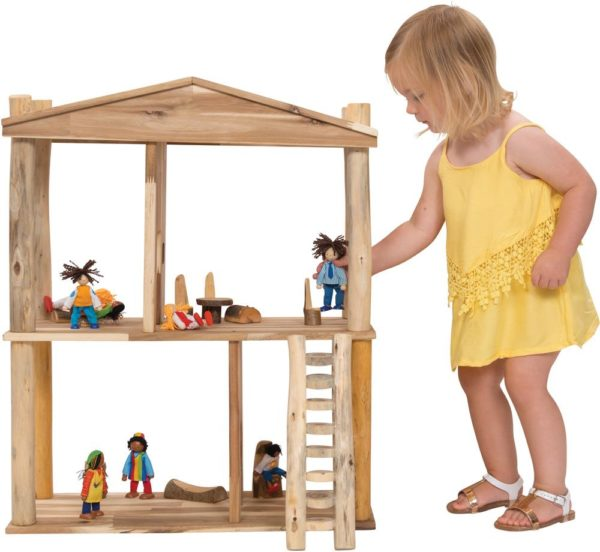 Natural Doll House-0