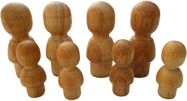 Natural Wooden People-0