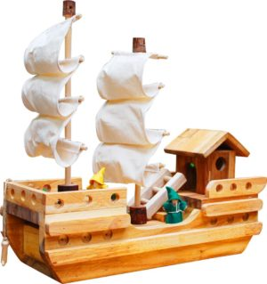 Wooden Pirate Ship-0