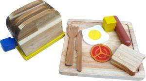 Wooden Breakfast Set (10pcs)-0