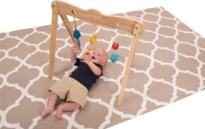 Wooden Baby Gym-0