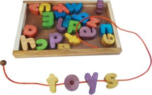Lacing Alphabet Tray-0